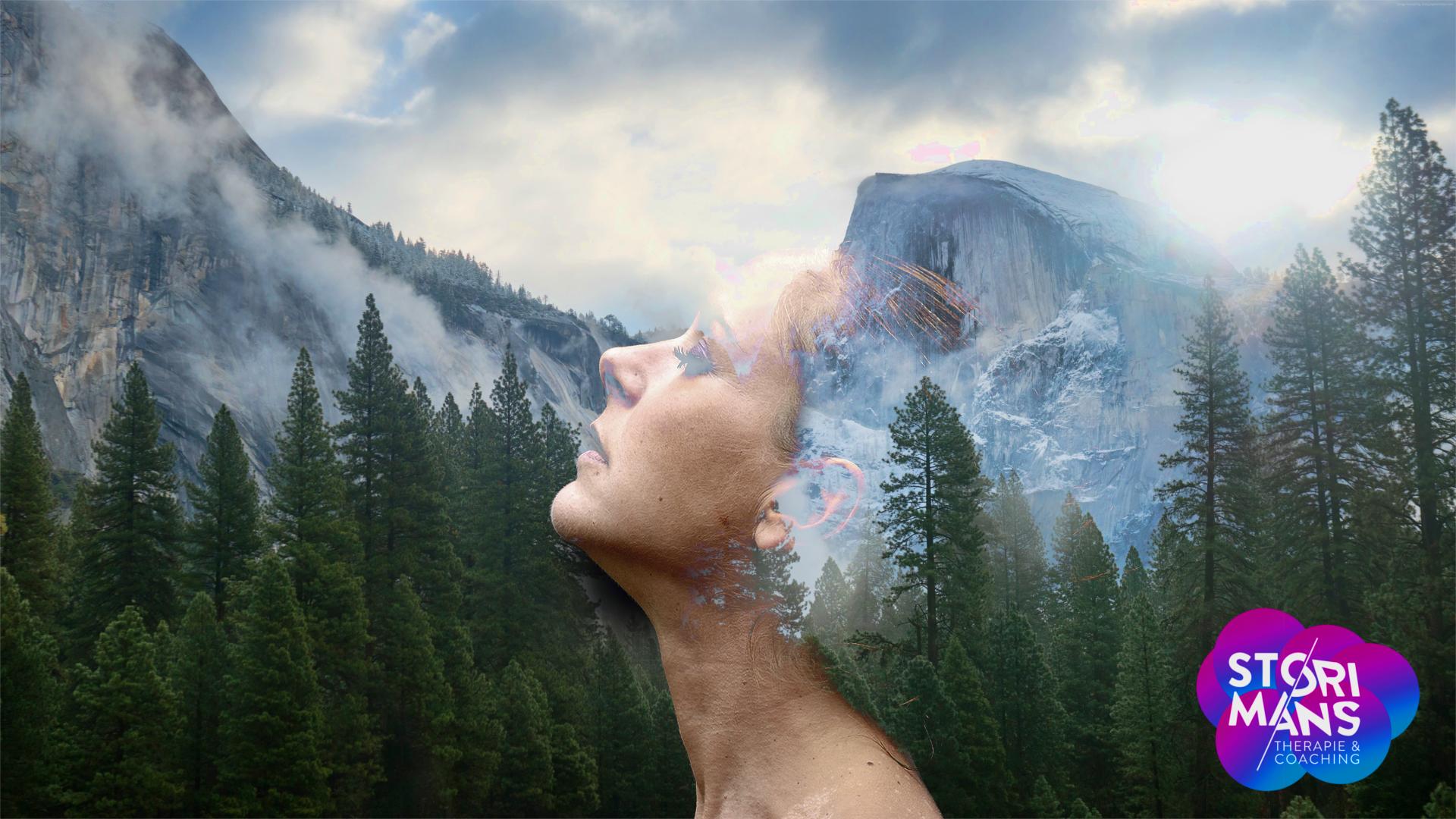 Hooggevoelige kinderen en volwassenen (HSP) die harde prikkels verminderen door meditatie