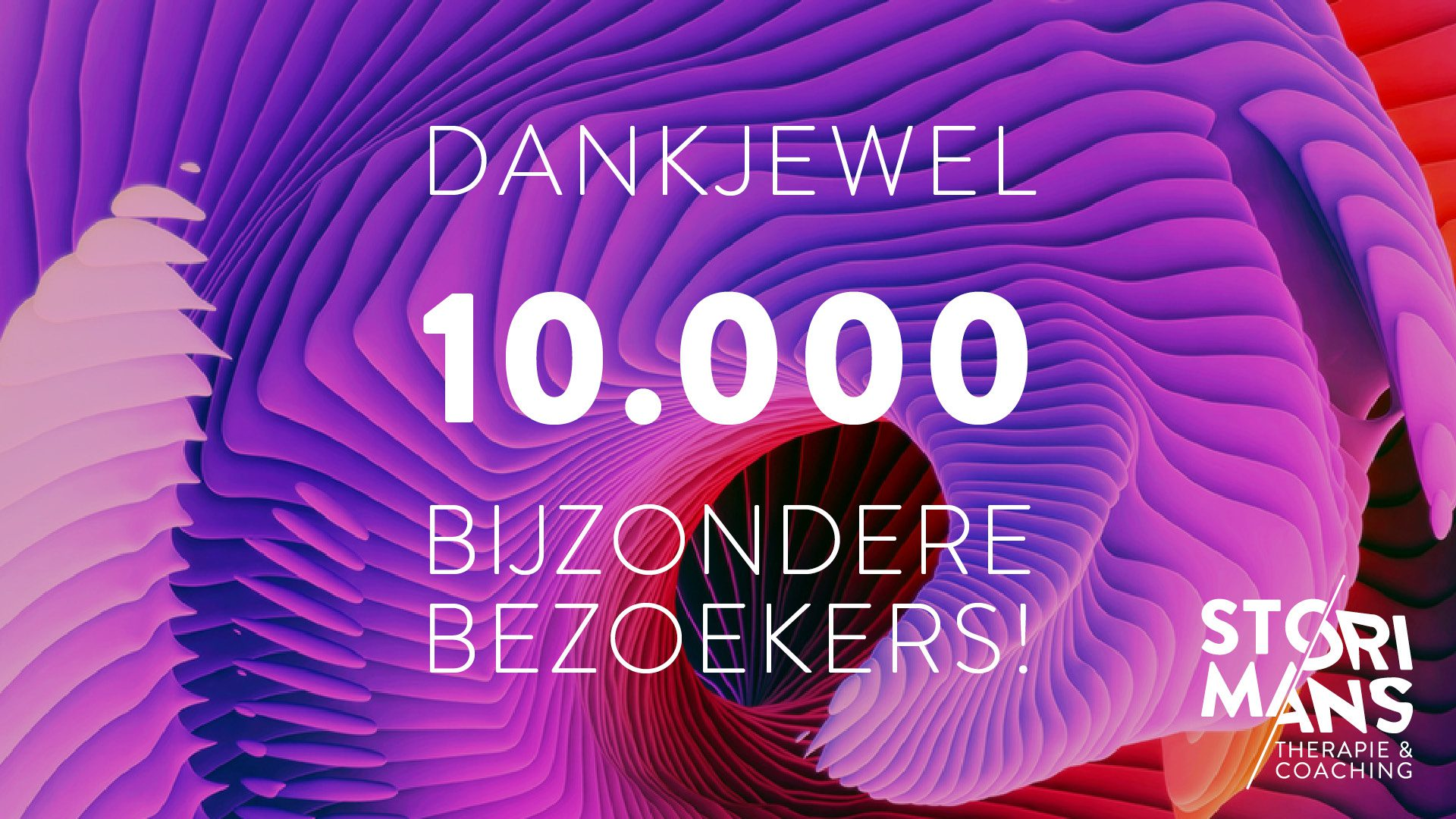 Storimans Therapie 10.000-bezoekers